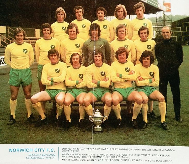 """Football Past on Twitter: """"Norwich City Second Division champions 1971/72 #ncfc https://t.co/KLKz7MeQMf"""""""