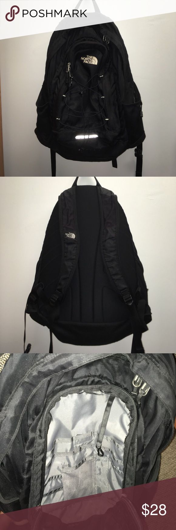 North Face Jester backpack! Preowned but definitely a ton of life left!! Only major flaw is a rip on the inside that goes into the pocket, nothing will fall out. Slight natural signs of wear. North Face Bags Backpacks