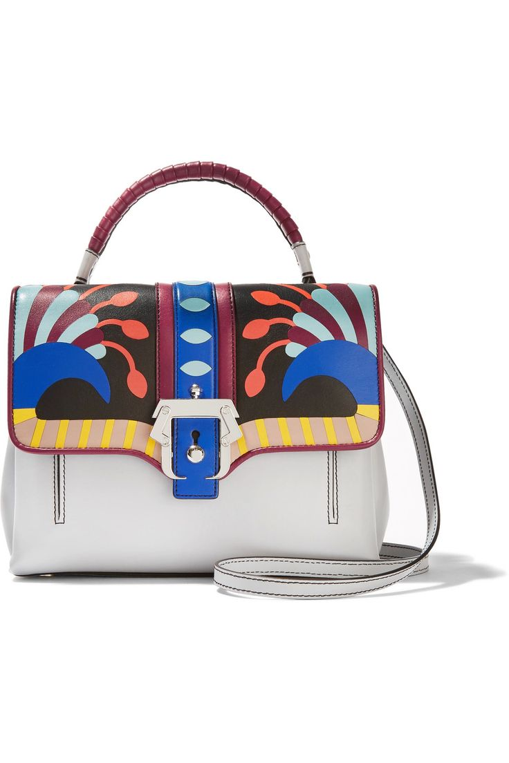 Shop on-sale Paula Cademartori Petite Faye printed leather shoulder bag. Browse other discount designer Shoulder Bags & more on The Most Fashionable Fashion Outlet, THE OUTNET.COM