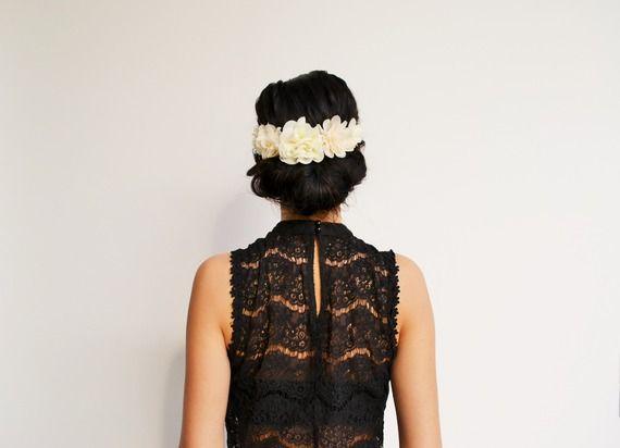 Les 66 meilleures images du tableau headband mariage boh me fleurs champ tre accessoire cheveux - Headband mariage boheme ...