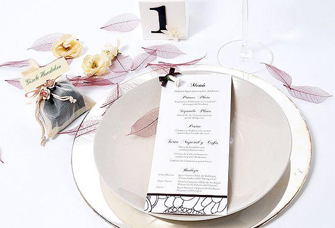 Menús originales para nuestra boda