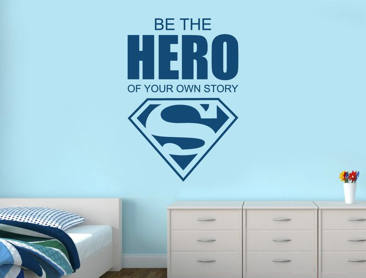 Superhero Wall Stickers | Be The Hero of Your Own Story