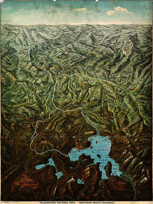 50 Best Yellowstone Maps Images By West Yellowstone