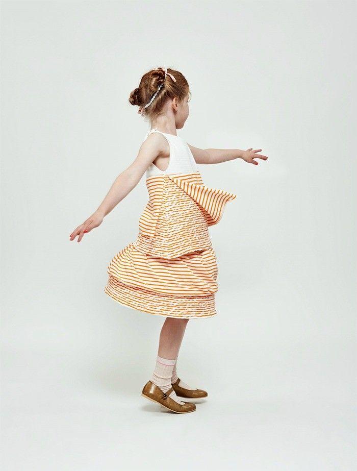 Beautiful dress!  | ☞ More content at http://petitandsmall.com/biobuu-eco-friendly-clothes-babies-children/