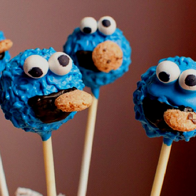 163 Best Cookie Monster Theme Party Images On Pinterest