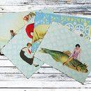 Kunstpostkarten aus dem Atelier Art-Istique  Wunderschöne kunterbunte Kunstpostkarten damit kann man die kleinen Träumerein auch auf die Reise schicken. Für Freunde, Familie oder einfach zum...