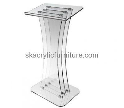 Fine furniture manufacturers custom acrylic pulpits church cheap modern furniture AP-330