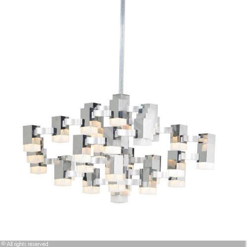 SCIOLARI Gaetano   Large Cubic Chandelier