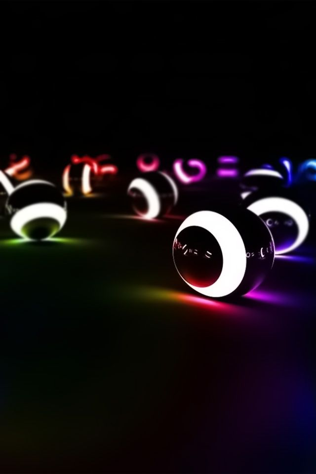 Glow Billiard Balls.. I have a poll table I have to get some glow in the dark pool balls too.