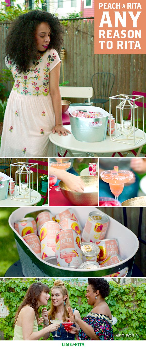 If April showers bring May flowers, then May flowers bring June backyard parties. Accessorize your outside with these simple items that turn your backyard into a party paradise: 1. Elegant ice bucket for your Peach-A-Ritas. 2. Table statement piece. 3. Textured bowl for snacks.