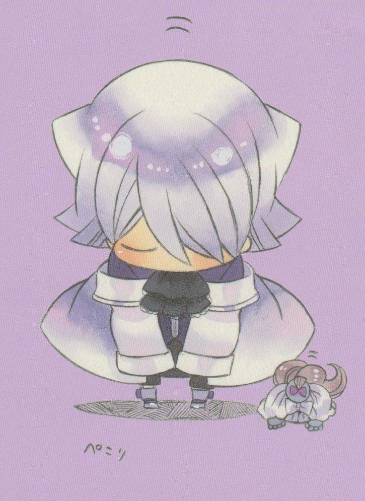 Pandora Hearts chibi Xerxes Break bowing~ so cute~!