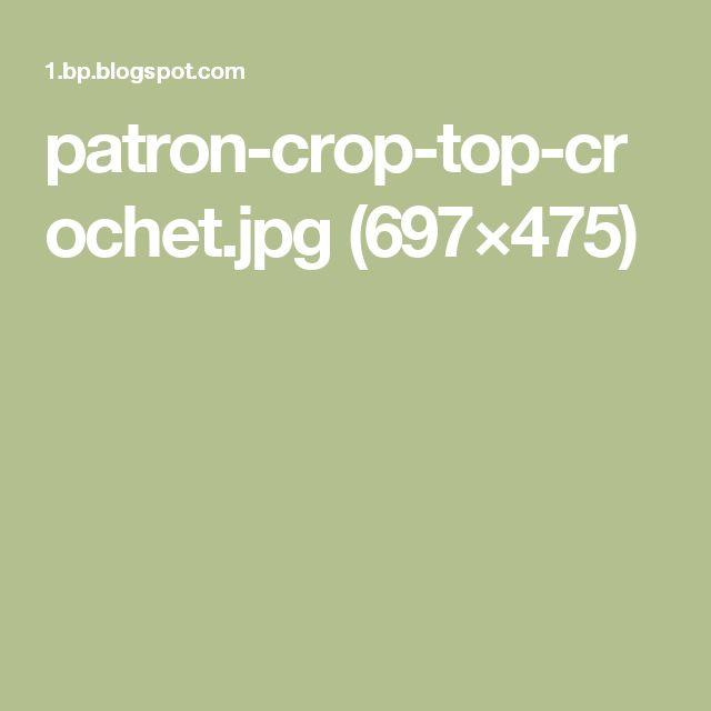 patron-crop-top-crochet.jpg (697×475)