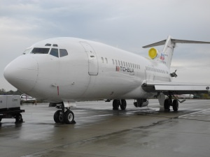 Mohawk College's Boeing 727-100 VIP Jet donated by Kelowna Flightcraft http://mohawkmatters.com/2012/11/08/mohawks-aviation-technician-program-reaches-new-heights-with-donation-of-boeing-727-from-kelowna-flightcraft/