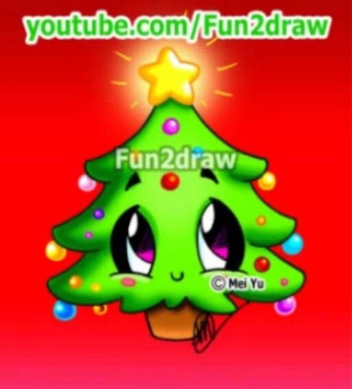 Fun2draw Christmas Tree