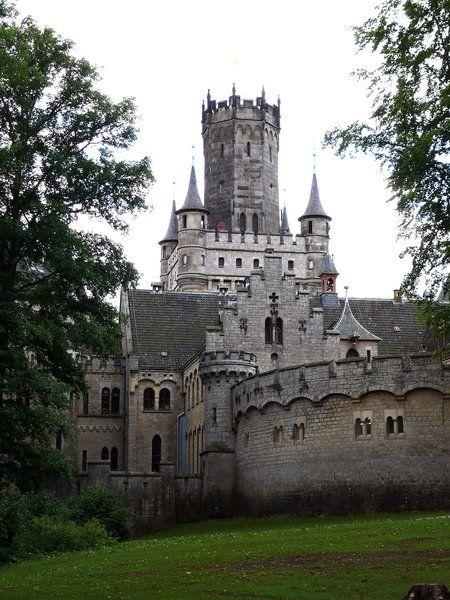 Das Schloss Marienburg.