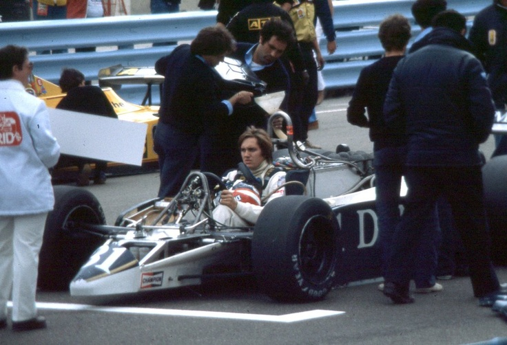 """Eddie""  Cheever, Jr., Osella FA1B - Ford Cosworth DFV ,1980"