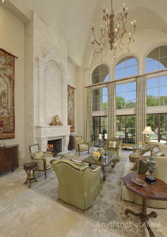 Diamond Plaster On Living Room Walls | Anything But Plain | Home Decor | Pinterest | Room Walls ...