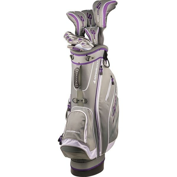 Adams Golf Women's Speedline Complete Set Golf Clubs With Bag