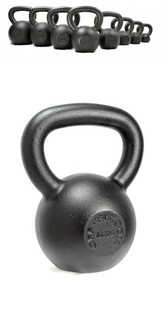 CFF Powder Coated Russian Kettlebell, 20kg