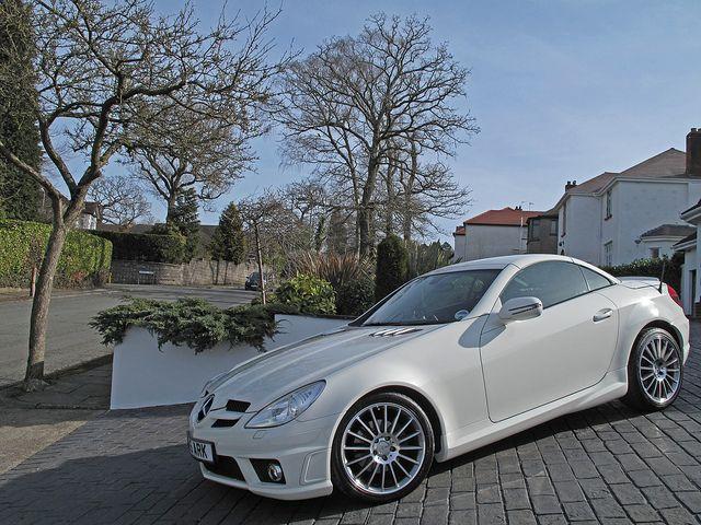 Mercedes SLK. daddy said I should....