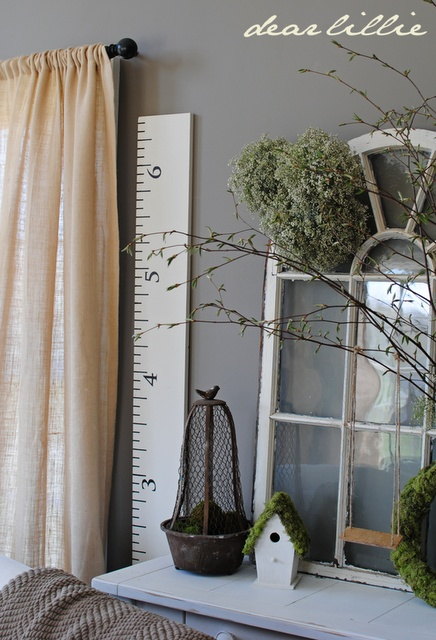 Our New Ivory Growth Chart (Thanks, Jason) =)