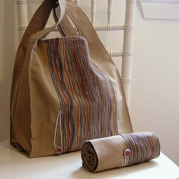 tote roll up bag