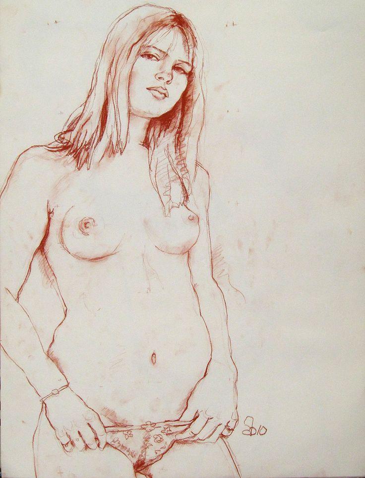 Erotic figure drawing not