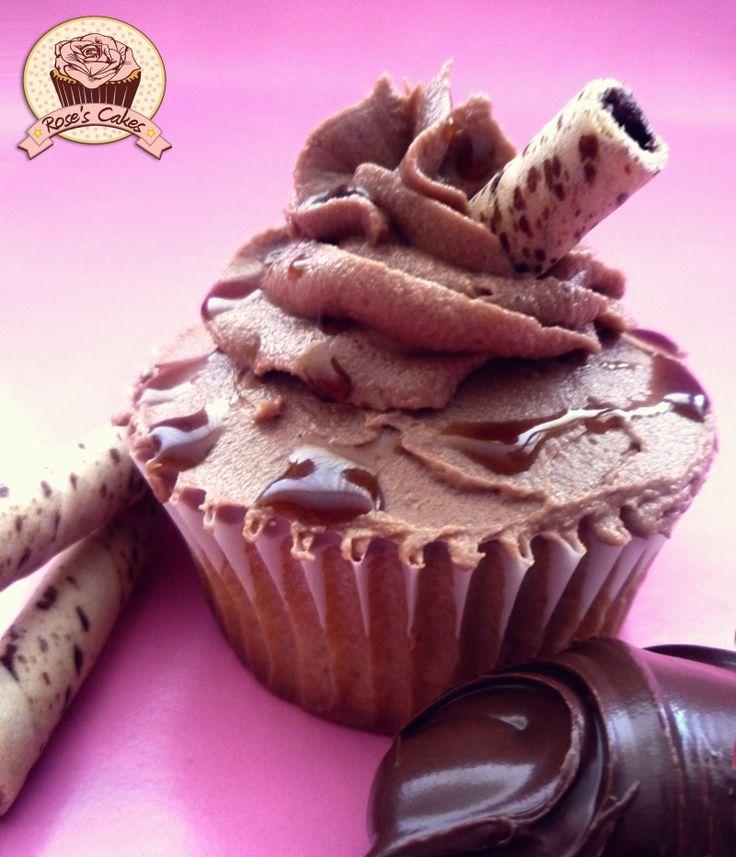 Nutella #cupcakes