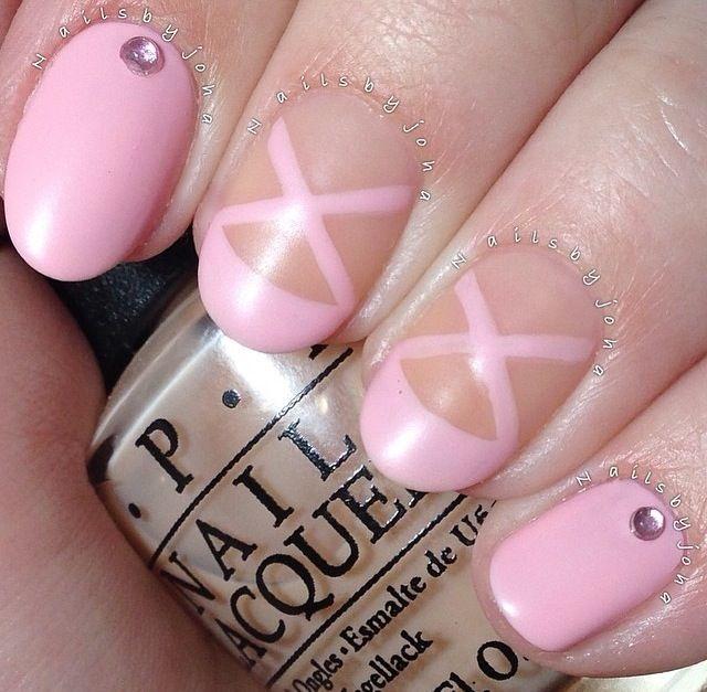 Cute ballet nails