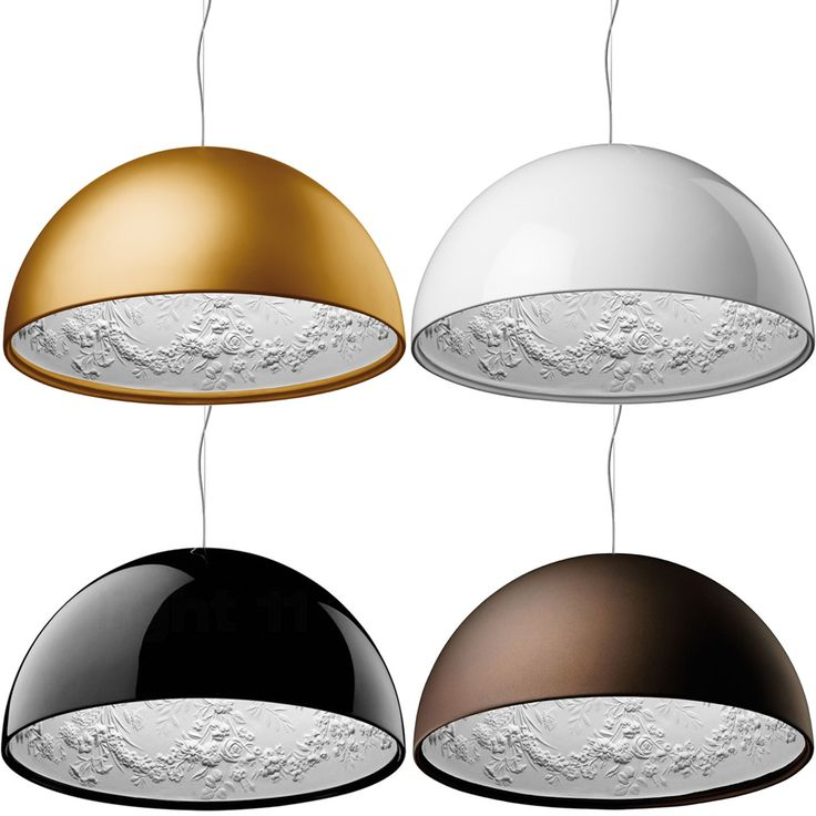 Embellished Interior Pendant by Flos. This would look fab in a contemporary bathroom, Ios lighting at Bell Northampton | Home Decor Ideas | Modern Lighting ➤ To see more Contemporary Lighting ideas visit us at www.contemporarylighting.eu/ #contemporarylamps #lightingideas #uniquelamps