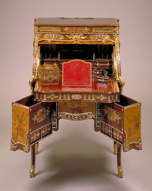 top furniture makers. abraham and david roentgen rolltop desk ca 1770 wood marquetry mother unusual furniturefurniture makersart top furniture makers f