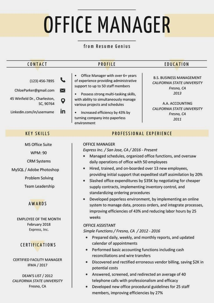 75 creative resume sales in 2020 office manager resume