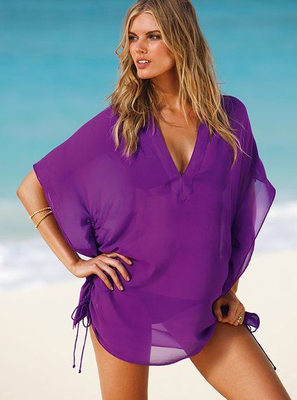 beach cover up - for shoulders especially