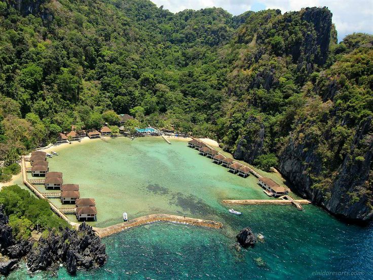 El nido legen island hotel and resort in filippine
