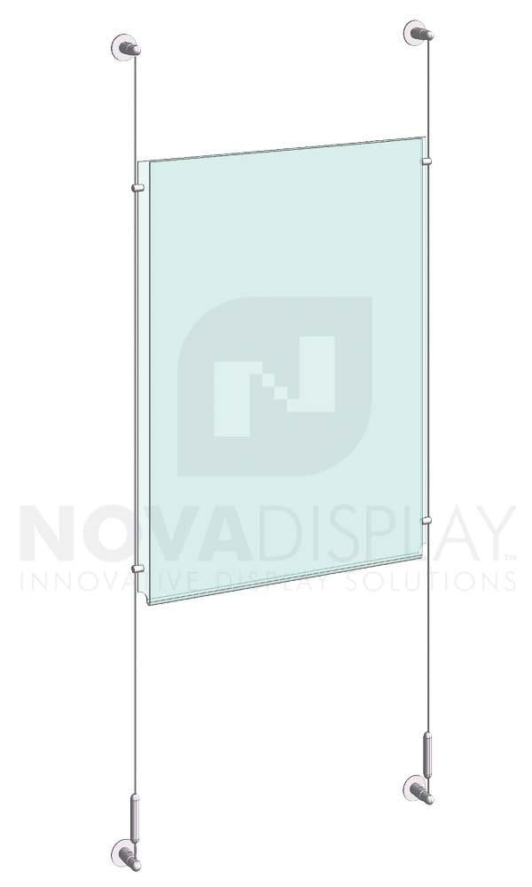 Poster Holder Wall In 2020 Poster Display Clear Acrylic Display