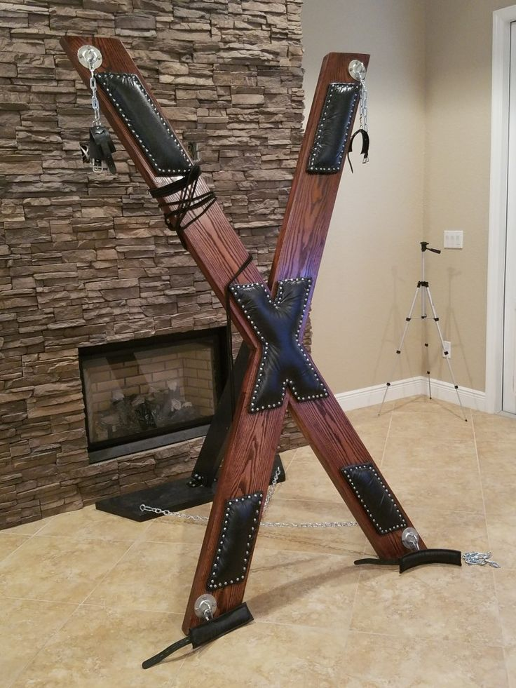 St. Andrew's cross, bdsm, created by Jerlorenterprises@mail.com.  contact for pricing.