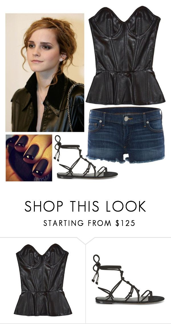 """""""Untitled #457"""" by vesta135 ❤ liked on Polyvore featuring Fleur du Mal, Rebecca Minkoff, True Religion and Emma Watson"""