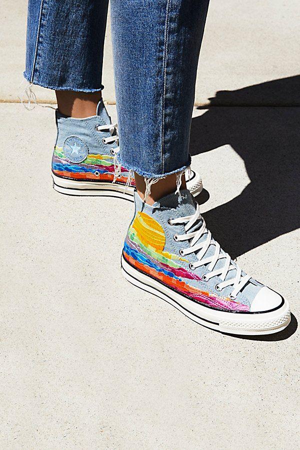 019df3ff33d3 Mara Hoffman x Converse High-Top Sneakers