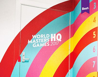 """Check out new work on my @Behance portfolio: """"World Masters Games Office 2014."""" http://on.be.net/1GGYiZ5"""