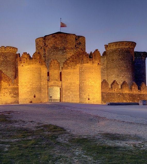 Castillo de Belmonte, Cuenca Spain.