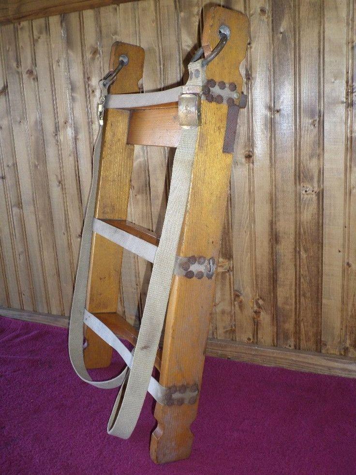 Vintage Wooden Boy Scout Backpack Frame L K Wood