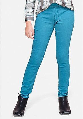 f78cbe79dfcb7 Color Pull On Jean Legging | Ebates. | Pinterest | Jeans, Girls ...