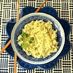 Rezeptbild: Paleo Blumenkohl Reis