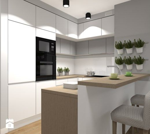 Kuchnia styl Skandynawski - zdjęcie od Medyńscy Projektowanie