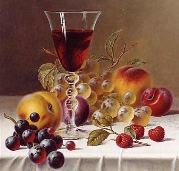 Ivan Khrutsky (1810–1885), Still life, 1855