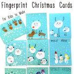 Fingerprint+Christmas+Cards+for+Kids+to+Make