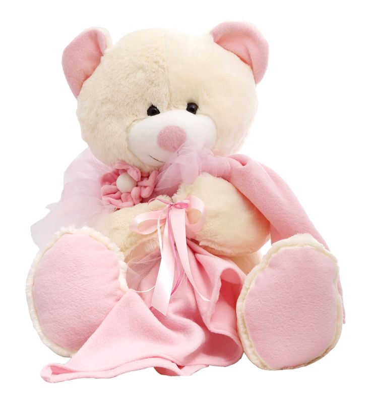 """Announce the new arrival with this Teddy Bear """"It's a Girl !"""" . Super soft and cute! #NewBaby #TeddyBear"""