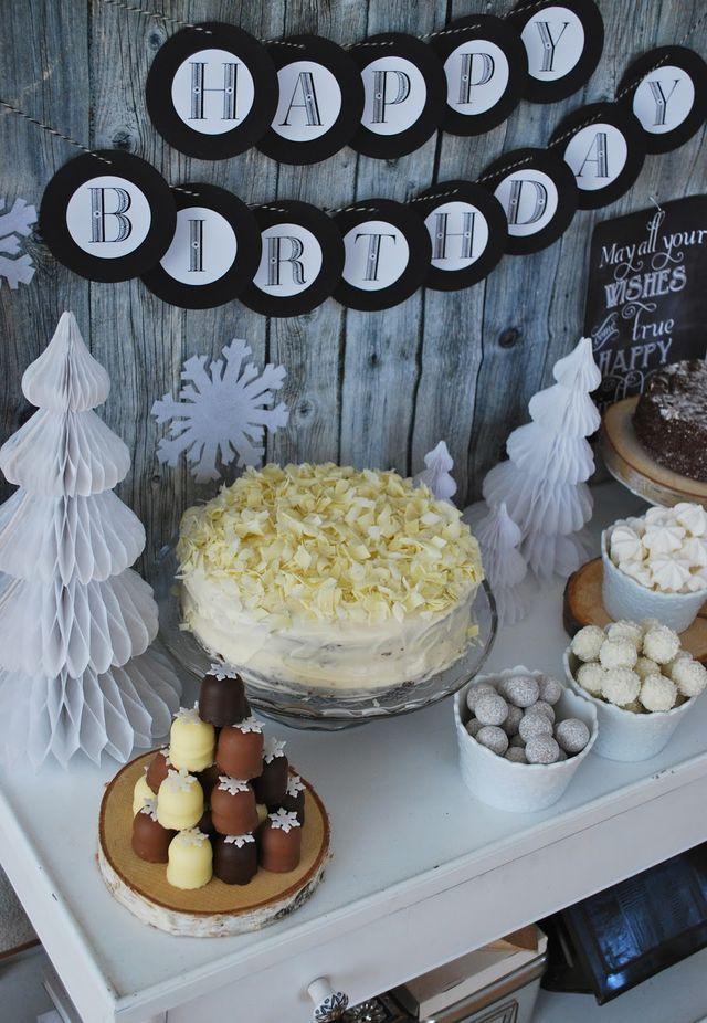 Winterlicher Meilenstein Mamas Kram Geburtstagsessen Ideen