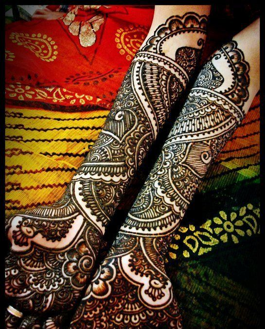 Gorgeous Bridal Mehndi Designs 2012 | Celebrity Gossip | Women Clothes