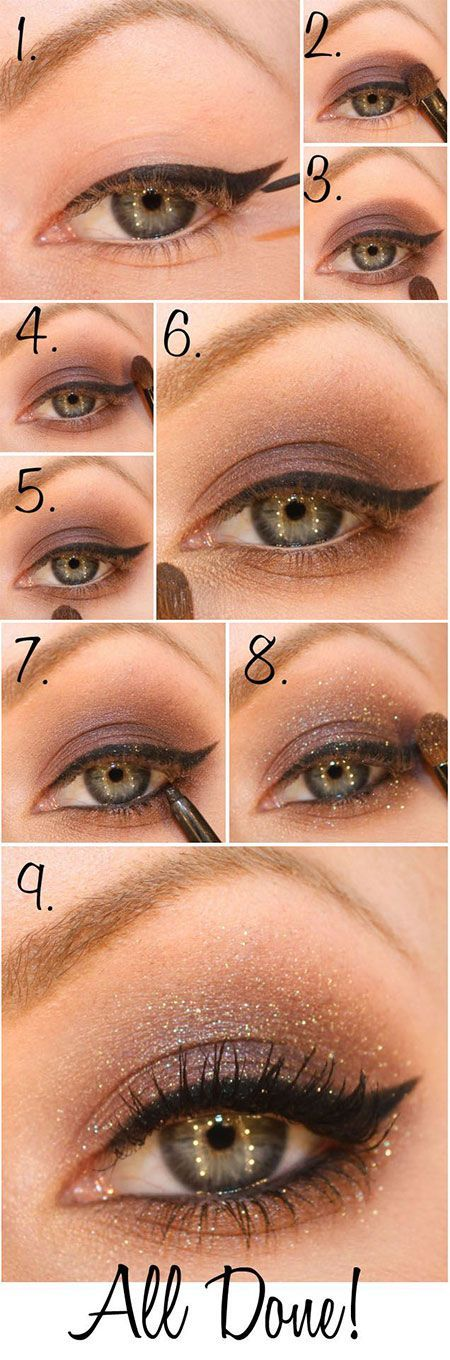 25 beautiful evening eye makeup ideas on pinterest smoky brown top 10 gorgeous night eye makeup tutorials eye makeup tutorialsmakeup tipsmakeup ccuart Images